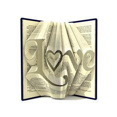 """For """"Love"""" pattern you need a hardback book 20cm tall and more, 556 pages and more."""