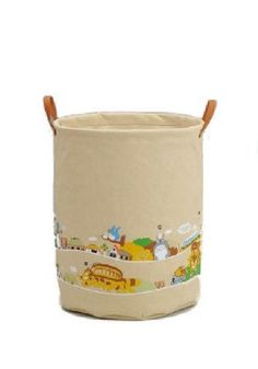 Totoro Matsugo handle laundry bag is a Studio Ghibli