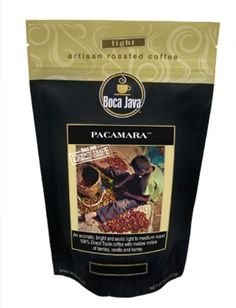Boca Java Roast to Order, Pacamara, Whole Bean, Nicaragua Direct Trade Coffee, 8 oz. bags (Pack of 2) >>> Startling review available here  : Fresh Groceries