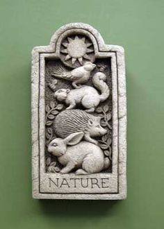Amazing Nature Stone    Carruth Studio: Waterville, OH