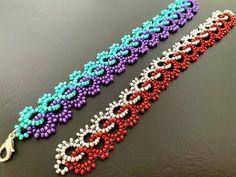 Bead Jewellery, Seed Bead Jewelry, Seed Beads, Fuse Beads, Perler Beads, Wire Jewelry, Jewelry Making Tutorials, Beading Tutorials, Beaded Jewelry Patterns