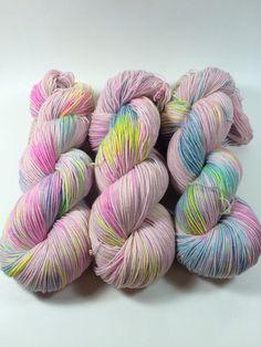 Simple Sock Sock Yarn Hand Dyed Yarn Superwash by HauteKnitYarn