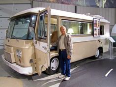 1964 Clark Cortez motor home; produced 1961-74, first American production front-wheel drive motorhome.