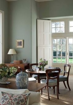 Drawing Room - traditional - Living Room - Farrow and Ball