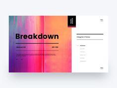 Breakdown by Kyle McDowell 🤘🏼