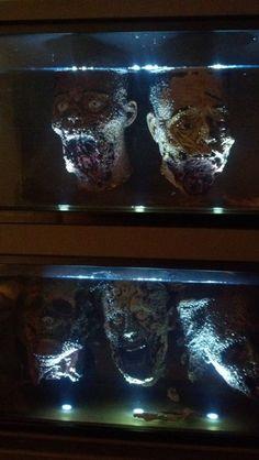 Halloween aquarium head idea