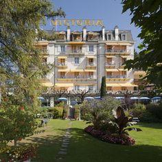 Hotel Victoria | Glion | Switzerland (1869)