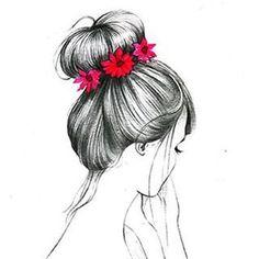 Rosa tumblr dibujo - Buscar con Google