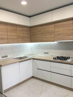 Simple Kitchen Design, Kitchen Pantry Design, Luxury Kitchen Design, Bathroom Interior Design, Home Decor Kitchen, Kitchen Layout, Kitchen Interior, Kitchen Wall Storage, Cuisines Design