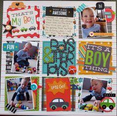 Boys & Their Toys - Scrapbook.com