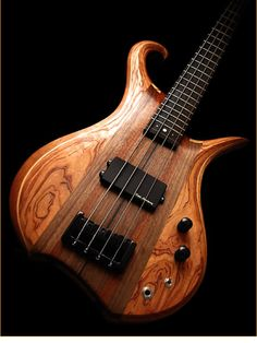 Eve Guitars Elite Fretted 4 bass - body