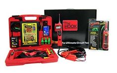 The Power Probe PPDP1 Diagnostic Pack with Hook, Master Test Kit and Continuity Tester includes the three products every professional needs for answering their everyday electrical diagnostic requirements. The HOOK is a High Impedance Diagnostic circuit tester consisting of high end DVOM abilities and advanced diagnostic modes