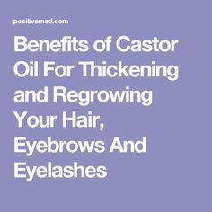 10 Useful Body Care Tips and Tricks You Probably Didn't Know About Use coconut and lavender oil to grow longer lashes - Combine 1/2 teaspoon of coconut oil with 2 to 4 drops of lavender essential oil. Using a cotton pad or Q-tip, gently apply the mixture to the lashes, coveringCastor Oil Castor Oil Uses In today&#821100% Pure Organic Castor Oil Hexane free - Great for Eyelashes, Hair, Eyebrows, Face and Skin , Hair Growth  Best Moisturizer for Skin  Hair with Treatment Applicator Time to get…