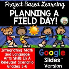 Here is a digital version of one of my Project Based Learning products: Planning a Field DayNow students can engage in this multi-disciplinary relevant project via Google Slides™ to practice a variety of skills. Various math skills are emphasized in this project including area, measurement, scale, ... Area And Perimeter Formulas, Area Formula, Math Skills, Math Lessons, Area Measurement, Line Diagram, Teaching Math, Maths, School Site