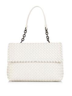 Olimpia intrecciato leather shoulder bag   Bottega Veneta   MA...