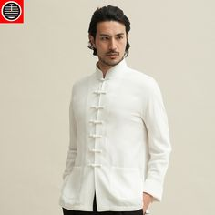 Husenji Chinese Style Tang Suit Cyberpunk Clothes, Cyberpunk Fashion, Asian Style, Chinese Style, Chinese Clothing For Men, Choir Uniforms, Japan Fashion, Mens Fashion, Chinese Shirt
