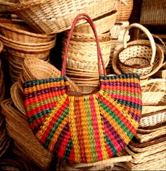 Striped Andean Purse