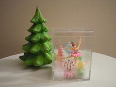 Sugar Plum Fairy, Nutcracker Ballet, Dance, Ballet, Ballerina, Christmas Decor, Table Top, Diorama, Ballerina Figurine