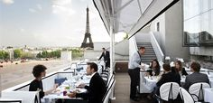 "Maison Blanche - Paris Restaurant with a view thanks #girlsguidetoparis Restaurant Maison Blanche 15 avenue Montaigne 75008 PARIS P. 33(0)1 47 23 55 99 reservation@maison-blanche.fr Opening hours : Weekdays: 12-14h / 20-23h, Saturday: 20-22h, Sunday: 20-23h Reservations open from 9am to 11pm on weekdays and from 5 to 11pm on week-ends, Metro : line 1: ""Franklin D. Roosevelt"" station line 9: ""Alma-Marceau"" station"