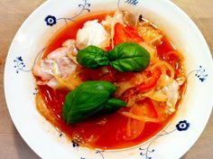 Spicy Ginger Soup  sunde, kaloriefattige, velsmagende suppe