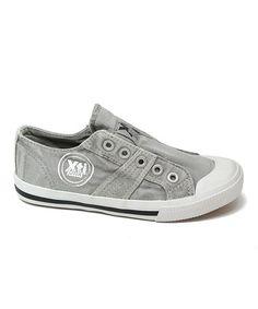 Gray Flex Slip-On Sneaker by Xti Kids #zulily #zulilyfinds
