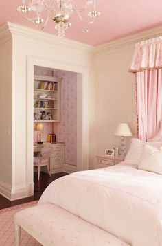 We could convert one of Maggie's closets to be like this...love it!