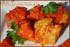 Bonito con tomate - Recetas Thermomix