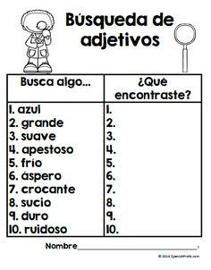 Los adjetivos en español (Adjectives in Spanish)
