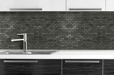 BuildDirect: Natural Stone Mosaic Slate Mosaic Tiles   Indian Black  4.99/sq ft