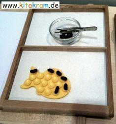 Aktionstabletts in Krippe, Kindergarten oder Hort | kitakram.de