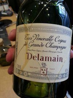 Delamain Cognac at wine shop in London TBT July 2013