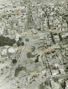 Aksaray Yol Düzenlemeleri Hava Fotoğrafı