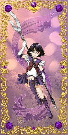 Sailor Saturn Arte Sailor Moon, Sailor Moon Stars, Sailor Moon Fan Art, Sailor Moon Manga, Sailor Uranus, Sailor Moon Crystal, Sailor Scouts, Sailor Saturno, Princesa Serenity