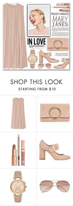 """sweet mary janes"" by nanawidia ❤ liked on Polyvore featuring CO, Dolce Vita, Lanvin, Michael Kors, H&M, maryjanes, polyvoreeditorial and polyvorecontest"