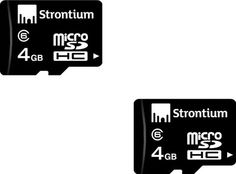Buy Strontium MicroSD Card 4 GB Class 6 Online at Best Offer Prices @ Rs. 369/- In India.