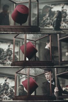 """One day you could just walk past a fez""... ""Never gonna happen."" In afraid for the day that the doctor walks past a Fez"