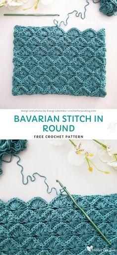 Beau Crochet, Stitch Crochet, Crochet Diy, Crochet Basics, Crochet Crafts, Yarn Crafts, Crochet Projects, Sewing Crafts, Crochet Stitch Tutorial
