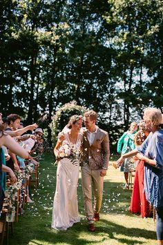 The Netherlands – Jeroen & Annika Bohemian Wedding | Alice Mahran