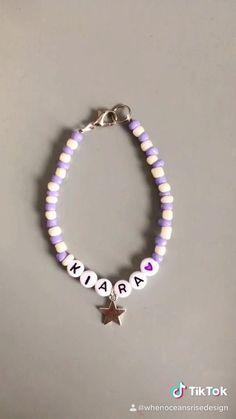 Diy Beaded Bracelets, Making Bracelets With Beads, Diy Bracelets Easy, Bracelet Crafts, Diy Necklace, Handmade Bracelets, Beaded Bracelet Patterns, Handmade Beaded Jewelry, Colorful Bracelets
