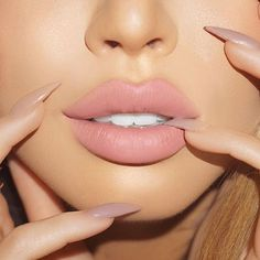 10 Spring Lip Colors That Will Make You So Kissable - Spring lip colors are the essential key to your beauty routine this season that will make all the difference. We listed off some spring lip colors that you are sure to love and rock this season. Nude Makeup, Nude Lipstick, Lipstick Colors, Skin Makeup, Lip Colors, Beauty Makeup, Jouer Liquid Lipstick, Crazy Lipstick, Hair Beauty