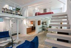 Loft avec mezzanine (De Fables de murs)