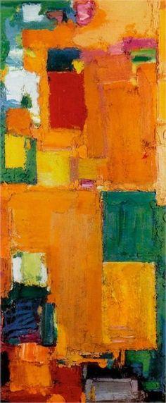 Hans Hofmann (German/American, 1880-1966) - Kaleidos  1958