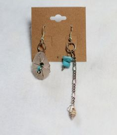 Sea Glass and Turquoise by OCEANbySteph on Etsy