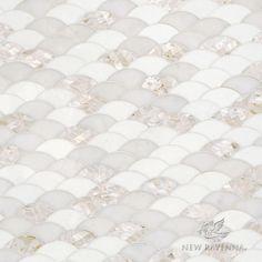 Abalone stone mosaic | New Ravenna