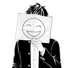 anime boy sad smile tumblr - Buscar con Google