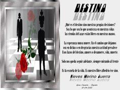 DESTINO - Poesias - Casa dos Poetas e das Poesias