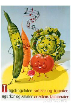 'Tingelinglater ...' -  Danish vintage poster by Vonsild