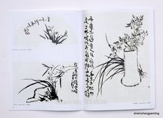 P1020187 Painted Books, Chinese Painting, Learn To Paint, Orchids, Learn How To Paint, Lilies, Learn To Draw, Orchid, China Painting