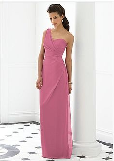 Beautiful dress. Would look good in gray or pink