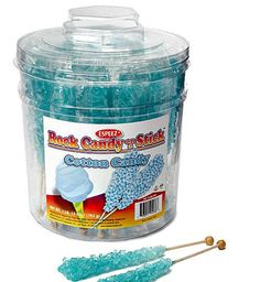 Just found Rock Candy Crystal Sticks - Light Blue: Tub Thanks for the Candy Crystals, Sugar Crystals, Blue Candy, Rock Candy, Frozen Birthday Party, Frozen Party, Candy Table, Candy Buffet, Rock Climbing Party